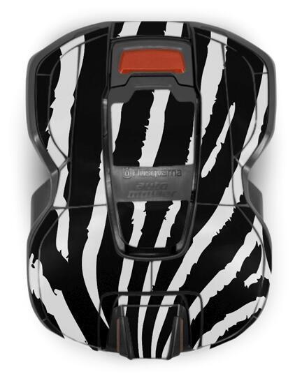 Gehäuse-Folie Motiv Zebra für Husqvarna Automower