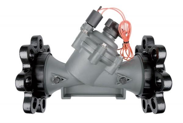 """300BPES Ventil 3"""" Innengewinde BSP mit Durchflussregulierung und Abstreifer, 24 V"""