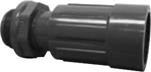 "PVC 1"" Euro-Adapter"