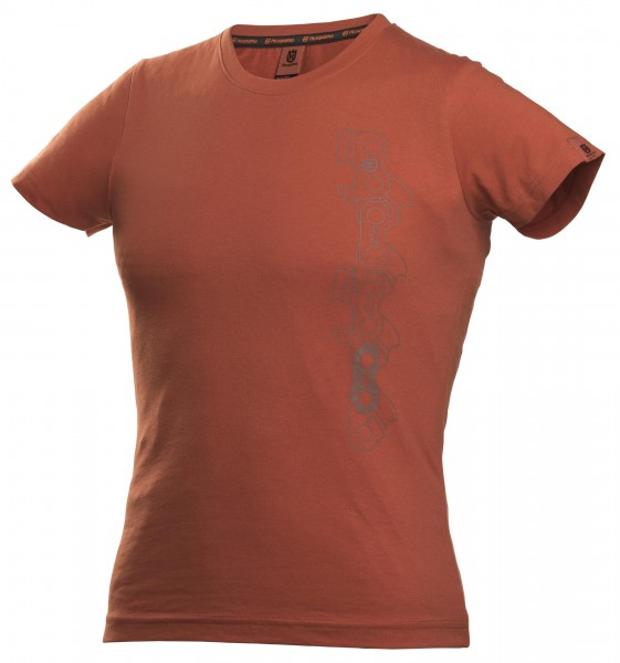 T-SHIRT X-CUT DAMEN orange
