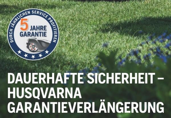 Husqvarna Garantieverlängerung für Automower 315X, 420, 520