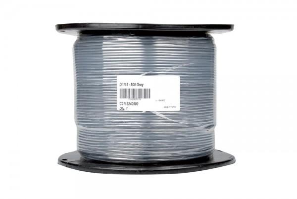 Einadriges Stromkabel 1 x 1,5 mm² – zweifache PVC-PE-Isolierung – 500 m Rolle