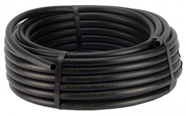 Verteilerrohr schwarz 100 m Rolle