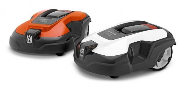 Wechselcover für Automower 310 / 315 in Weiß & Orange