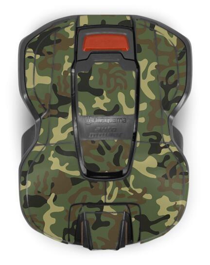 Gehäuse-Folie Motiv Camouflage für Husqvarna Automower