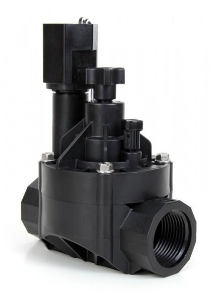 """100HV Ventil 1"""" Innengewinde BSP mit Durchflussregulierung, 24 VAC"""